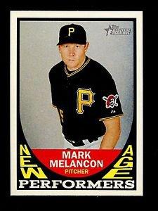 2016 Topps Heritage Baseball  New Age Performers  #NAP-MME  Mark Melancon