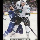 2015-16 Upper Deck Hockey Series 1 UD Canvas  #C73  Patrick Marleau