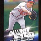 2016 Topps Baseball Series 2  Hallowed Highlights  #HH-15  Greg Maddux