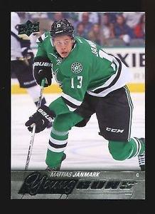 2015-16 Upper Deck Hockey Series 1 Young Guns  #244  Mattias Janmark