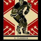 2011-12 OPC O-Pee-Chee Hockey RETRO Parallel  #75  David Clarkson