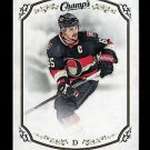 2015-16 Upper Deck Champs Hockey  Base card  Short Print  #214  Erik Karlsson