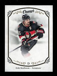 2015-16 Upper Deck Champs Hockey  Base card  Short Print  #214  Erik Karlsson