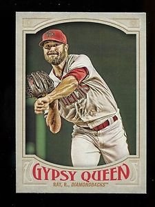 2016 Topps Gypsy Queen Baseball  Base  #282  Robbie Ray
