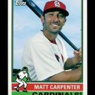 2015 Topps Baseball Archives  #108  Matt Carpenter