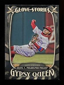 2016 Topps Gypsy Queen Baseball  Glove Stories  #GS-9  Freddy Galvis