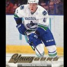 2015-16 Upper Deck Hockey Series 1 Young Guns Canvas  #C111  Ronalds Kenins