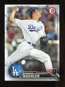 2016 Bowman Baseball  Prospect  #BP78  Walker Buehler