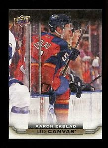 2015-16 Upper Deck Hockey Series 1 UD Canvas  #C36  Aaron Ekblad