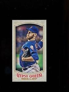 2016 Topps Gypsy Queen Baseball  Mini  #103  Zack Wheeler