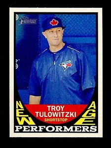 2016 Topps Heritage Baseball  New Age Performers  #NAP-TT  Troy Tulowitzki