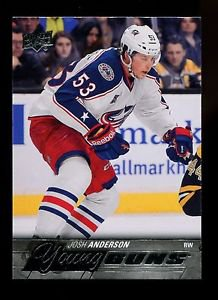 2015-16 Upper Deck Hockey Series 1 Young Guns  #217  Josh Anderson