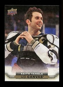2015-16 Upper Deck Hockey Series 1 UD Canvas  #C60  Keith Yandle