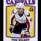 2016-17 OPC O-Pee-Chee Hockey  RETRO  #72  Tom Wilson