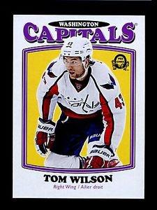 2016-17 OPC O-Pee-Chee Hockey  RETRO  #72  Tom Wilson