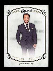 2015-16 Upper Deck Champs Hockey  High Series Short Print  #300  Jason Priestley