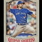 2016 Topps Gypsy Queen Baseball  Base  #205  R.A. Dickey