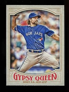 2016 Topps Gypsy Queen Baseball  Base  #205  R.A. Dickey
