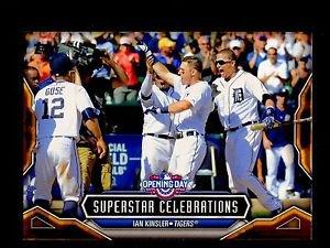2016 Topps Opening Day Baseball  Superstar Celebrations  #SC-12  Ian Kinsler