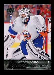 2015-16 Upper Deck Hockey Series 1 Young Guns  #242  Jean-Francois Berube