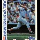 1982 Topps Baseball  #651  Carl Yastrzemski  In Action