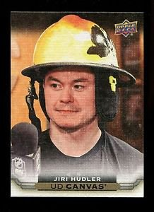 2015-16 Upper Deck Hockey Series 1 UD Canvas  #C12  Jiri Hudler