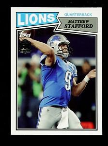 2015 Topps Football  60th Anniversary Retro Insert  #T60-MS  Matthew Stafford
