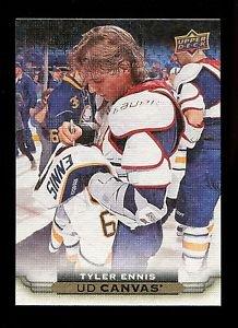 2015-16 Upper Deck Hockey Series 1 UD Canvas  #C11  Tyler Ennis