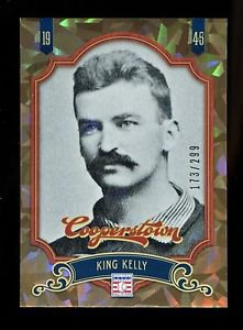 2012 Panini Cooperstown Baseball  Crystal Collection  #28  King Kelly  173/299