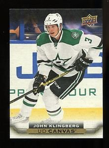 2015-16 Upper Deck Hockey Series 2  UD Canvas  #C147  John Klingberg