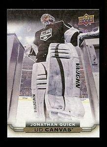 2015-16 Upper Deck Hockey Series 1 UD Canvas  #C39  Jonathan Quick