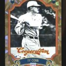 2012 Panini Cooperstown Baseball  Crystal Collection  #1  Ty Cobb  279/299