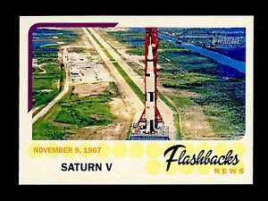 2016 Topps Heritage Baseball  News Flashbacks  #NF-SV  Saturn V