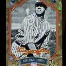 2012 Panini Cooperstown Baseball  Crystal Collection  #126  Buck Leonard  53/299