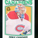 2016-17 OPC O-Pee-Chee Hockey  RETRO  #324  Mike Condon