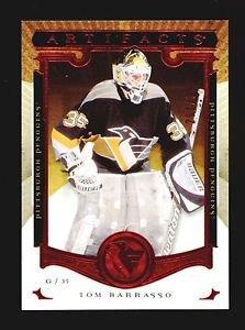 2015-16 Upper Deck Artifacts Hockey  Ruby  #144  Tom Barrasso  261/399