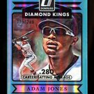 2015 Panini Donruss Baseball  Diamond Kings  #3  Adam Jones  Stat Line  215/280