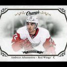 2015-16 Upper Deck Champs Hockey Base card Short Print  #159  Andreas Athanasiou