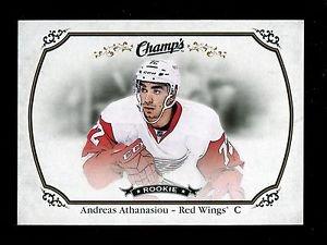 2015-16 Upper Deck Champs Hockey Base card Short Print  #159  Andreas Athanasiou