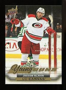 2015-16 Upper Deck Hockey Series 2  UD Canvas Young Guns #231  Jaccob Slavin