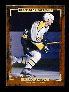 2015-16 Upper Deck Portfolio Hockey  Base  #197  Mario Lemieux
