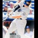 2016 Topps Baseball Stadium Club  #46  Greg Bird  RC