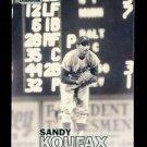 2016 Topps Baseball Stadium Club  #13  Sandy Koufax