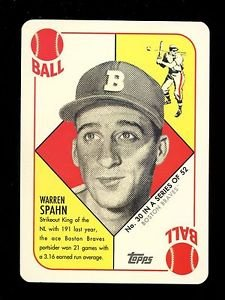 2016 Topps NSCC Convention  VIP Promo 1951 Red Back  #30  Warren Spahn