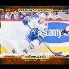 2015-16 Upper Deck Portfolio Hockey  Base  #3  Leo Komarov