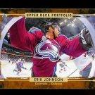 2015-16 Upper Deck Portfolio Hockey  Base  #91  Erik Johnson