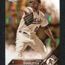 2016 Topps Baseball Chrome   Sepia Refractor  #112  Sean Doolittle