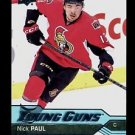 2016-17 Upper Deck Hockey Series 1 YOUNG GUNS  #219  Nick Paul