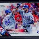 2016 Topps Baseball Chrome Update Target  #HMT19  Nomar Mazara