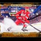 2015-16 Upper Deck Hockey Portfolio  #105  Henrik Zetterberg